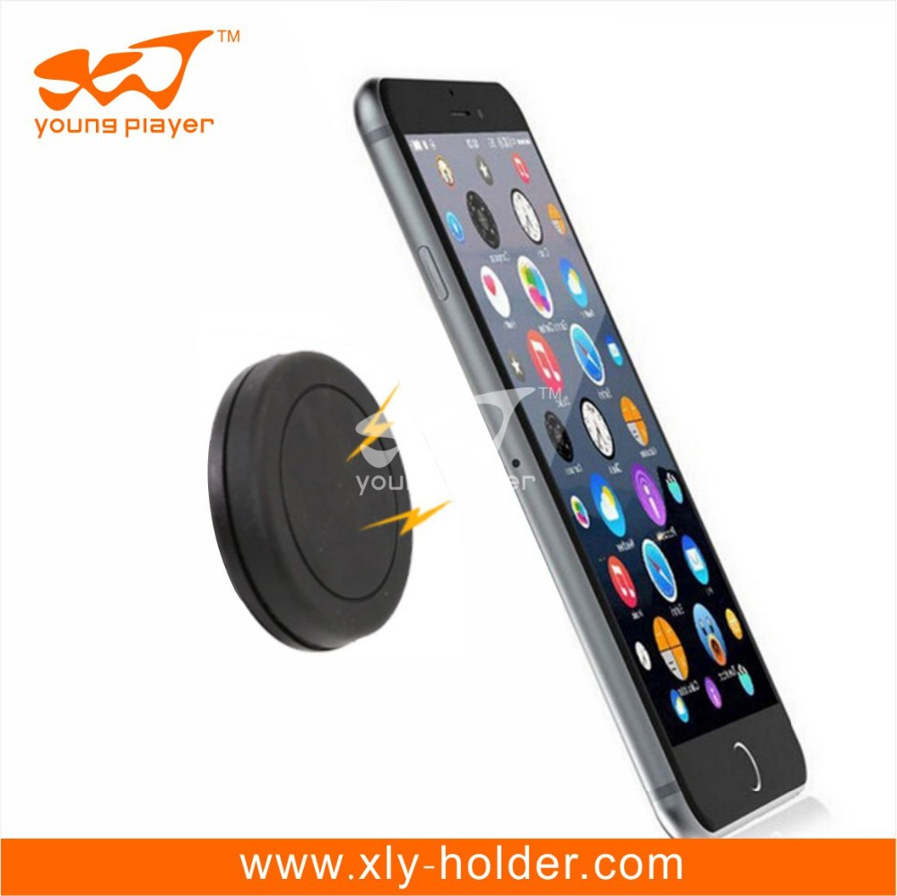 2016 Magnet 360 Rotating phone car mount for Samsung/apple, magnetic cellphone holder, cell phone holder car