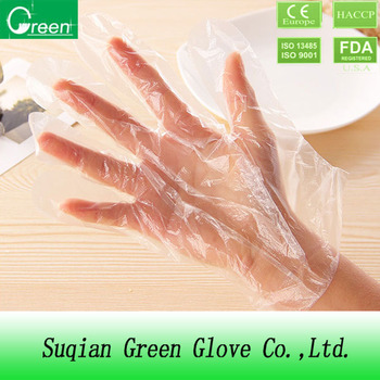 recycling plastic gloves