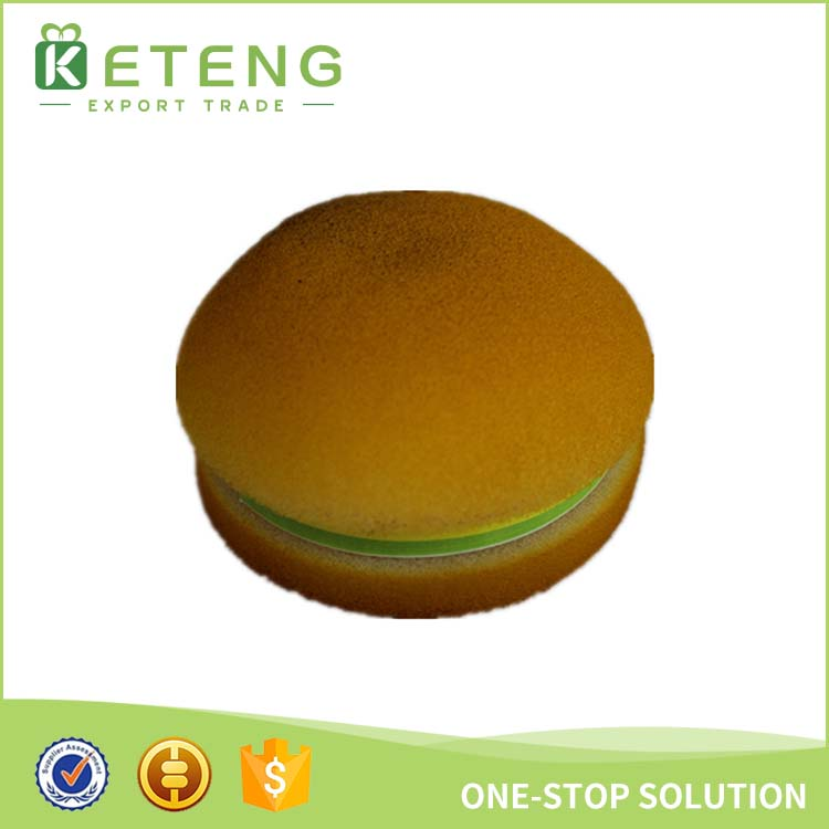 New design fashion digital custom hamburger shaped sticky note memo pad