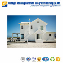 European style Safe and Portable prefabricated beach houses