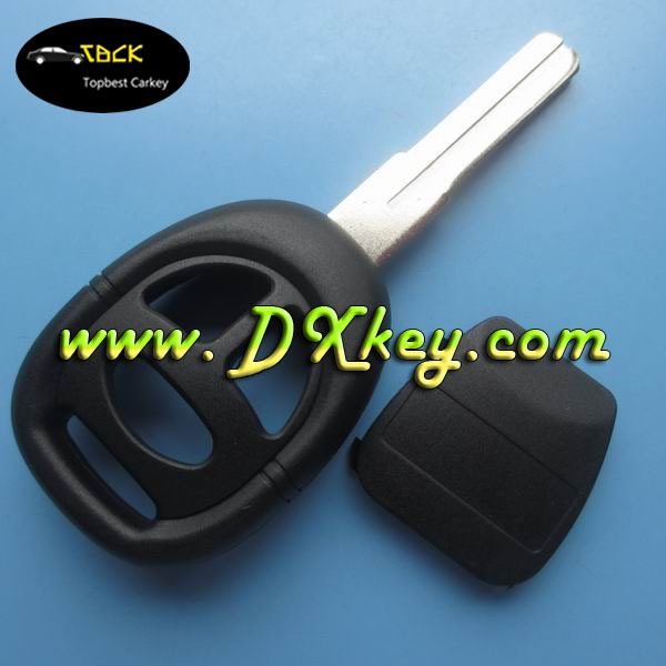 Best Quality 3 button car key blanks with 4 track blade for saab key case no logo remote key