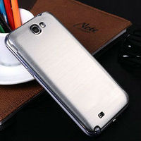 aluminum case for galaxy note ii n7100 back cover phone