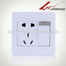 5 pin electrical plug with 1 gang switch
