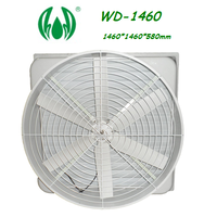 Fiberglass Negative Pressure Fan WD-1460 cooling fan