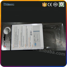 customize blister card packing slide blister insert card for electronics