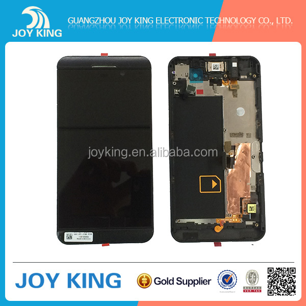 Hot selling cell phone original LCD for blackberry Z10 LCD screen
