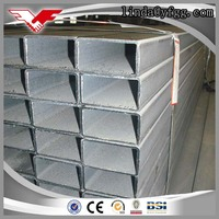 Oiled Black Square Hollow Section Steel Tube Weight / Iron Pipe Sizes