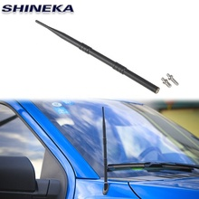 Stainless Steel+ABS Style Accessories Car Modified Antenne for Ford F150 2015+