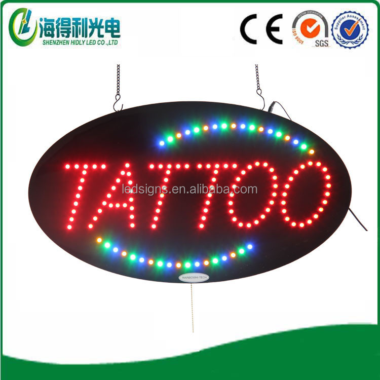 2016Indoor shop Wholesale Tattoo led light box