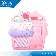 Veaqee best selling products 3d color silicone case for iphone 5
