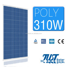 Just Solar Group Poly solar panel 310w with high effiency with TUV CE CQC certification