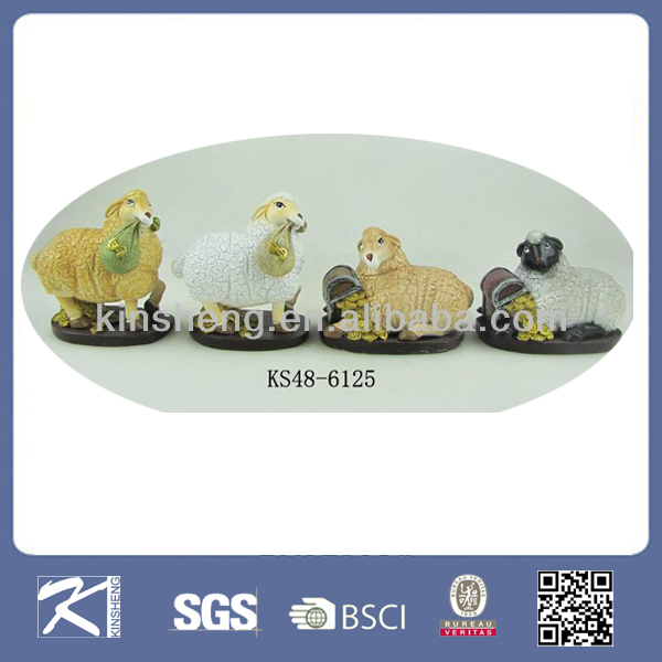2015 Symbol new Year - Resin Sheep, Chinese Zodiac Souvenirs