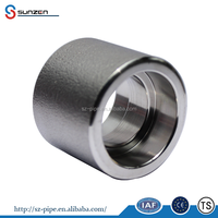 Forged high pressure A105 3000 coupling pipe fitting