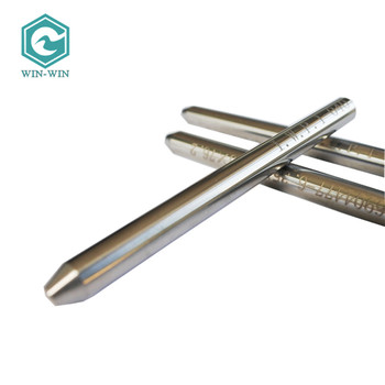 Waterjet Spare Parts Long Life Water Jet Component Tungsten Carbide Nozzle 6.35*1.02*76.2mm