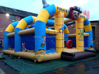 Pirate inflatable adventure , adverture zone inflatable bounce house