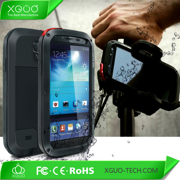 waterproof case wholesale price for samsung galaxy s4 i9500