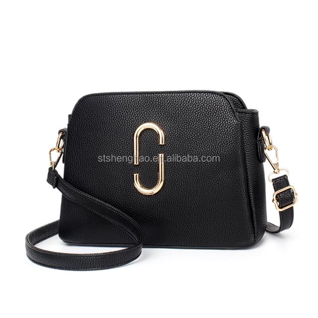 Korea Fashion casual lady small square cheap leather handbags wholesale