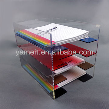 Hot Sales Filing Plastic Cabinets a4 Drawers