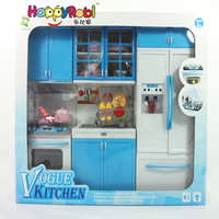 Fashionable cook ware Plastic toys kitchen play set