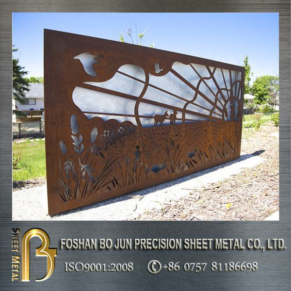 Image Result For Outdoor Metal Wall Art
