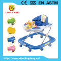 WALKER WITH BEAUTIFUL TOYS SIMPLE AND CHEAP BABY WALKER WITH MUSIC AND LIGHT FOR CHILD OVER 6 MONTH
