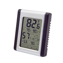 digital room lcd touch screen max min hygro thermometer DTH-124