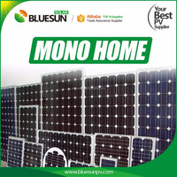 Bluesun Solar high quality mono 190W 200w double glass solar panel