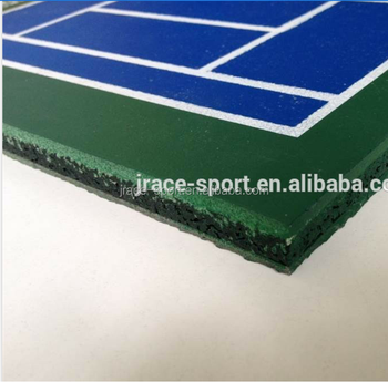outdoor flooring materials with shock pad