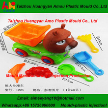 Taizhou Amo Plastic sand DIY toys injection molds making