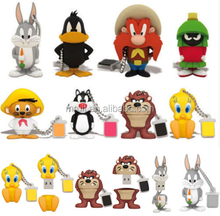 Wholesale price 8GB 16GB 32GB 64G Gift USB Flash Drive Memory Cartoon