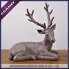 Decorative resin deer figurines