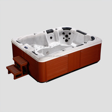 2 person whirlpool indoor hot tub with tv