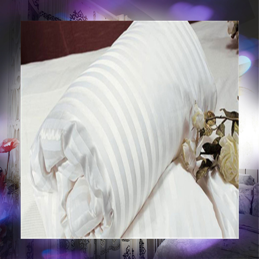 exported thin silk comforter/quilt with white stripe