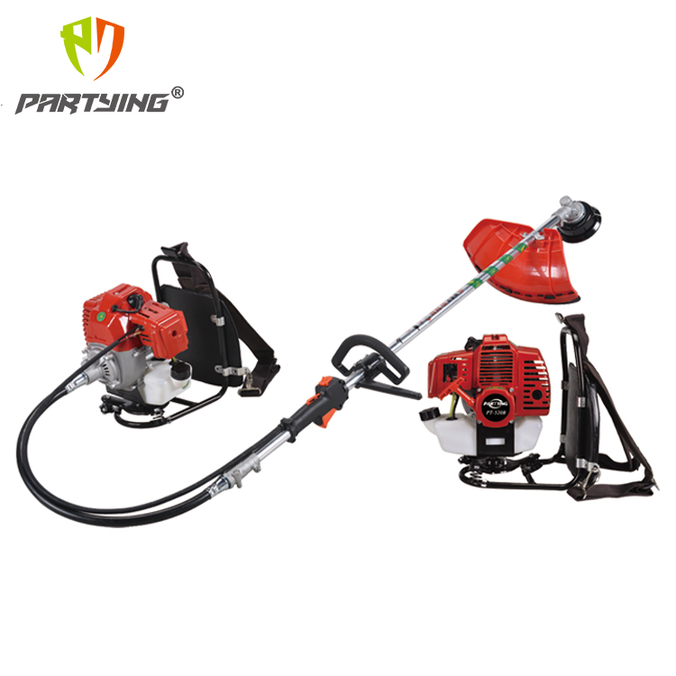 PT-430B/520B/430/520 2-Stroke Forced Air Cooling Multifunctional Hanging Backpack Brush Cutter