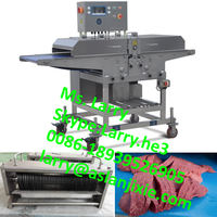 beef meat slicing machine/beefsteak slicer/steak slicing machine