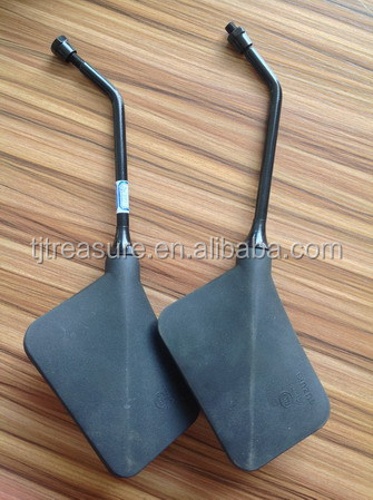 chinese tianjin dirt cheap motorcycle part rearview mirror ax100