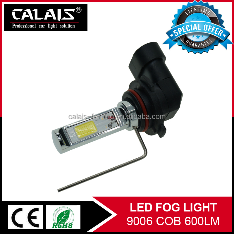 High quality yellow white color cob chips 9006 HB4 led fog light <strong>bulb</strong>