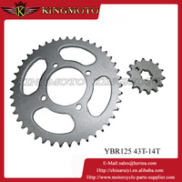420-37T/15T motorcycle chain sprocket YBR125
