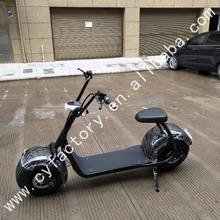 CY Interesting 2017 hot sale citycoco 1500W fast delivery electric scooter motorcycle for adults