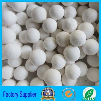 white ball activated aluminum oxide for adsorption moisture