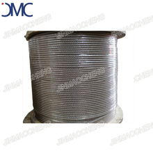 Transparent PVC coated galvanized steel wire rope