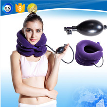 air neck traction ,inflatable cervical collar,air cervical traction with CE/FDA
