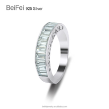 New Fashion Jewelry Ring Design CZ Rings Rhodium color Ring Manufacturers China