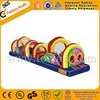 Funny giant inflatable obstacle course for kids games A5021