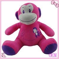 talking and walking and animal monkey plush toy custom plush toy manufacturer