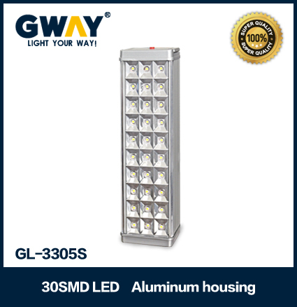 home rechargeable led emergency light led lamp 30led ac/dc charging