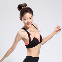Women Sexy Crossback breathable running wears fitness yoga hollow suits