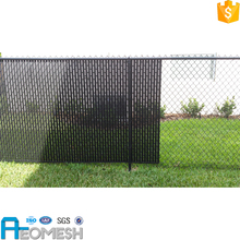 decorative metal garden edging fence/chain link fence privacy slats