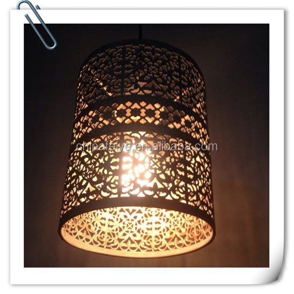 traditional g Iron Bird cage chandelier lamp for restaurant retro living room dining room hanging lamp