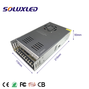 Constant Voltage 12/24V Switching Power Supply LED Driver 360W